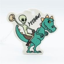 Load image into Gallery viewer, Stickie Bandits Alien Ride Air Freshener