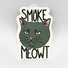 Load image into Gallery viewer, Stickie Bandits Smoke Meowt Air Freshener