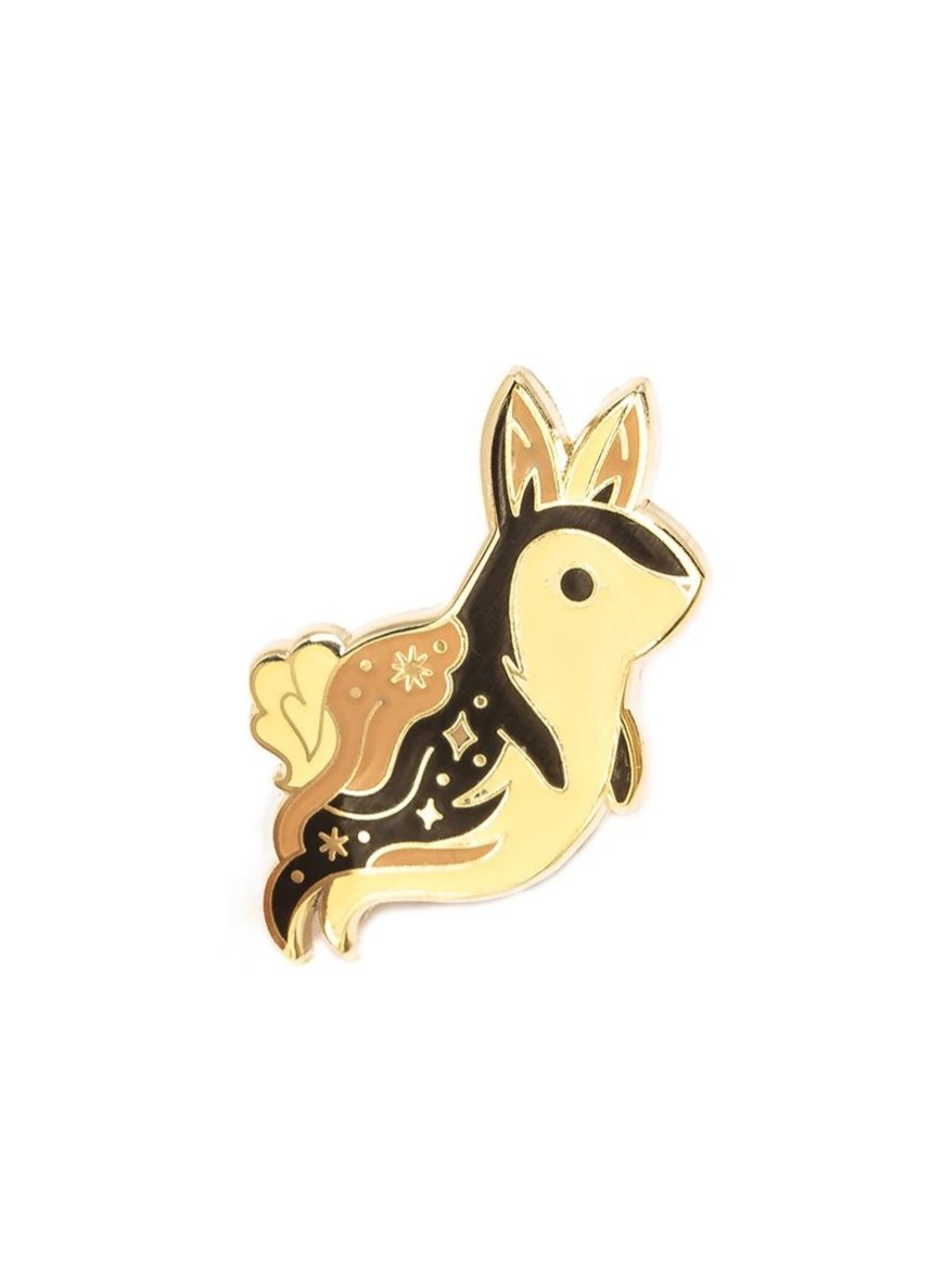 Lost Lust Supply Ghost Bunny Pin by Teagan White