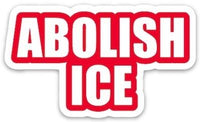 The Found Die Cut Vinyl Sticker Abolish ICE