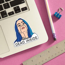 Load image into Gallery viewer, The Found Die Cut Vinyl Sticker Billie Dead Inside