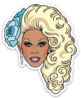 The Found Die Cut Vinyl Sticker Drag Queen