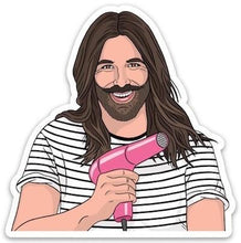 Load image into Gallery viewer, The Found Die Cut Vinyl Sticker Jonathan Van Ness