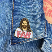 Load image into Gallery viewer, The Found Enamel Pin JVN Fab