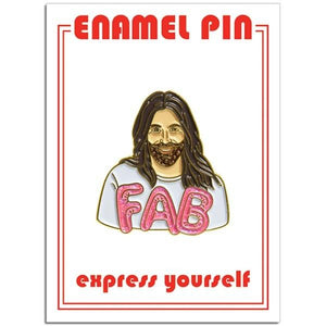 The Found Enamel Pin JVN Fab
