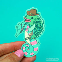 Load image into Gallery viewer, Turtle's Soup Rodeo Fish Vinyl Sticker