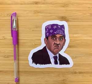 Yea Oh Greetings Prison Mike Sticker