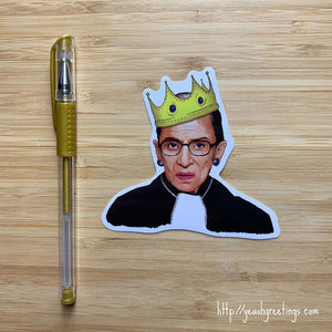 Yea Oh Greetings RBG Sticker