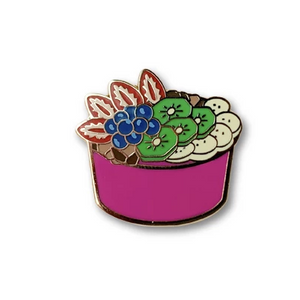 Heroes For Hire Acai Bowl Pin