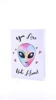 Sketchy Print Co. You're Not Alone Card