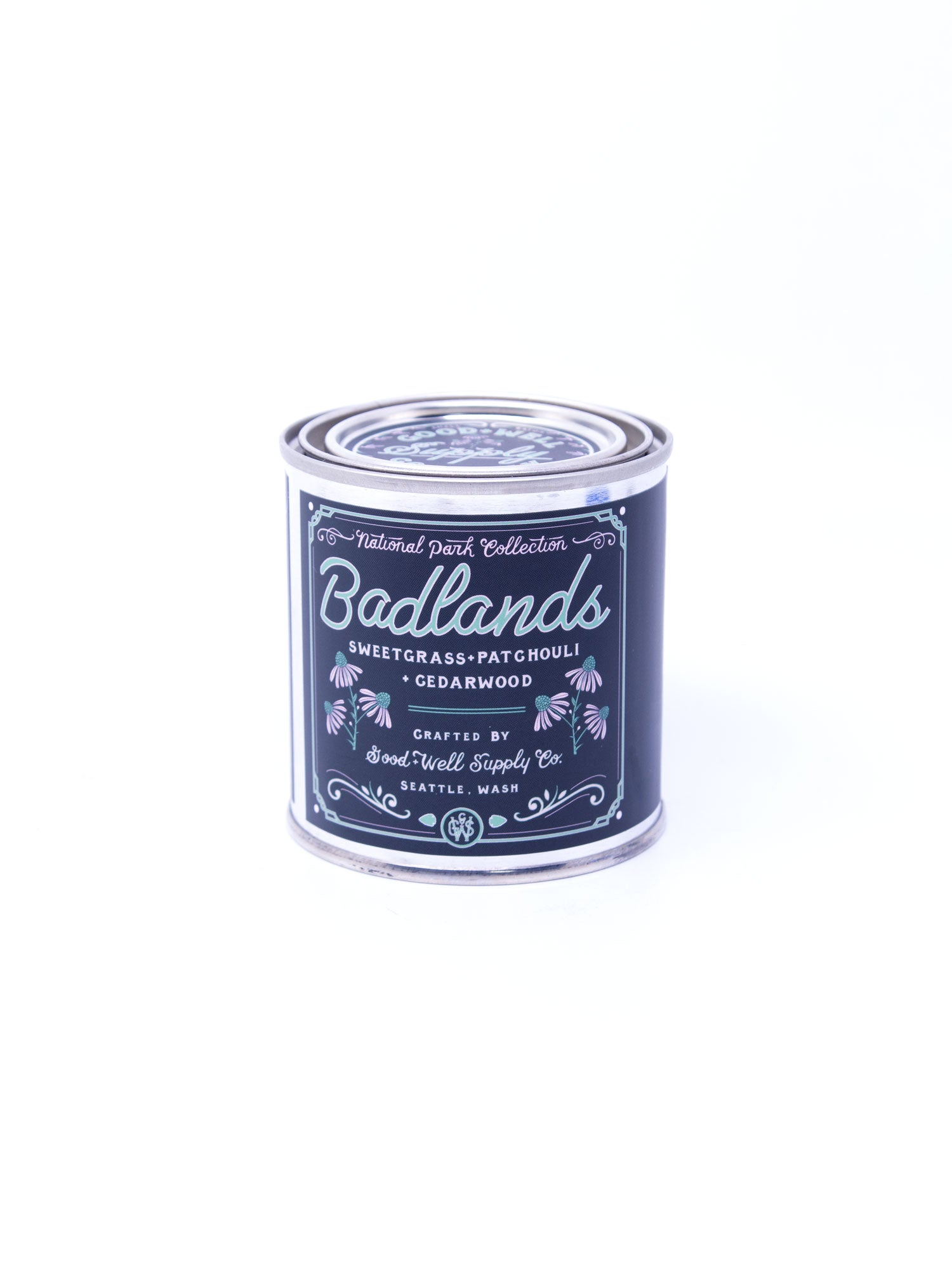 Good and Well Supply Co. Half Pint National Park Candle Badlands