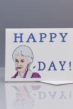 Load image into Gallery viewer, Seas and Peas Bea Arthur Birthday Card