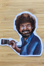 Load image into Gallery viewer, Yea Oh Greetings Bob Ross Sticker