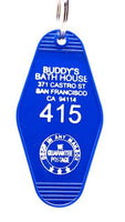 Three Sisters Motel Key Fob Buddy's Bath House