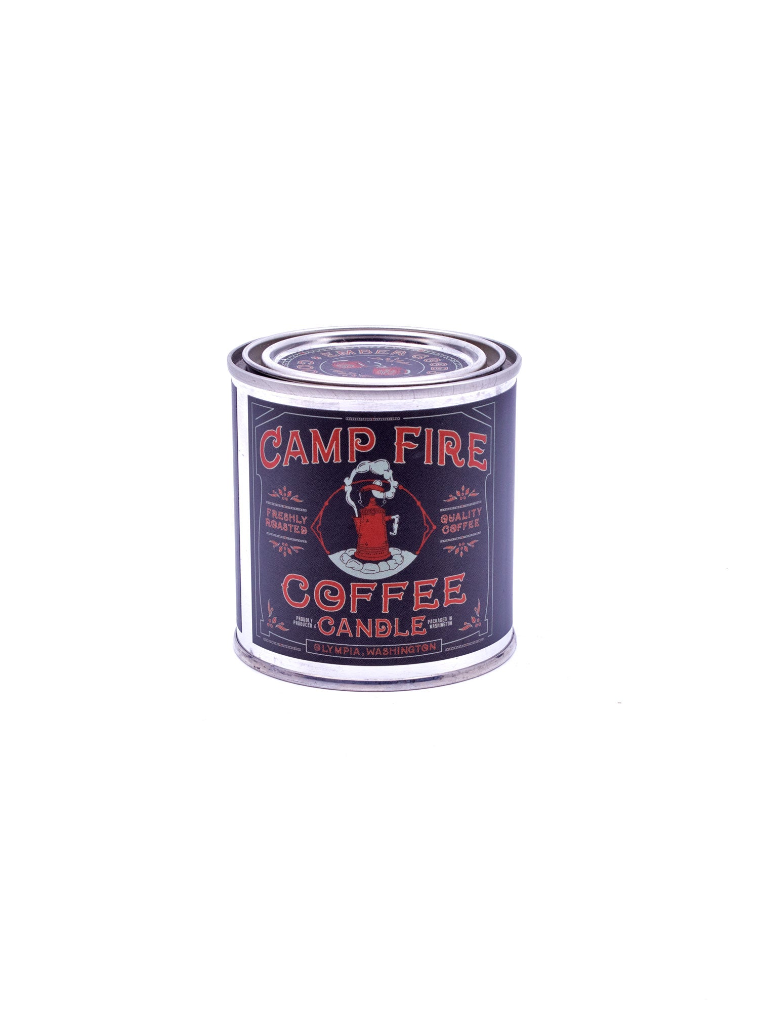 Good and Well Supply Co. Half Pint National Park Candle Campfire Coffee