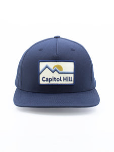 Northwest Vibes Capitol Hill Snapback Navy