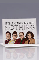 Seas and Peas Card About Nothing Seinfeld
