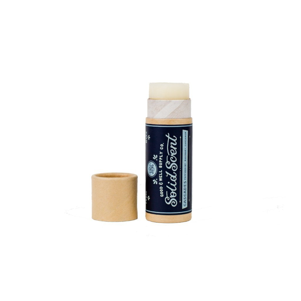 Good and Well Supply Co. Solid Fragrance Balm Cascades