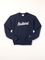 Standard Goods Embroidered Ballard Sweatshirt Navy