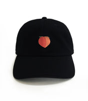 Dad Brand Apparel Peach Dad Hat Black