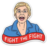 The Found Die Cut Vinyl Sticker Elizabeth Warren