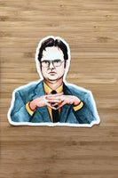 Yea Oh Greetings Dwight Schrute Sticker