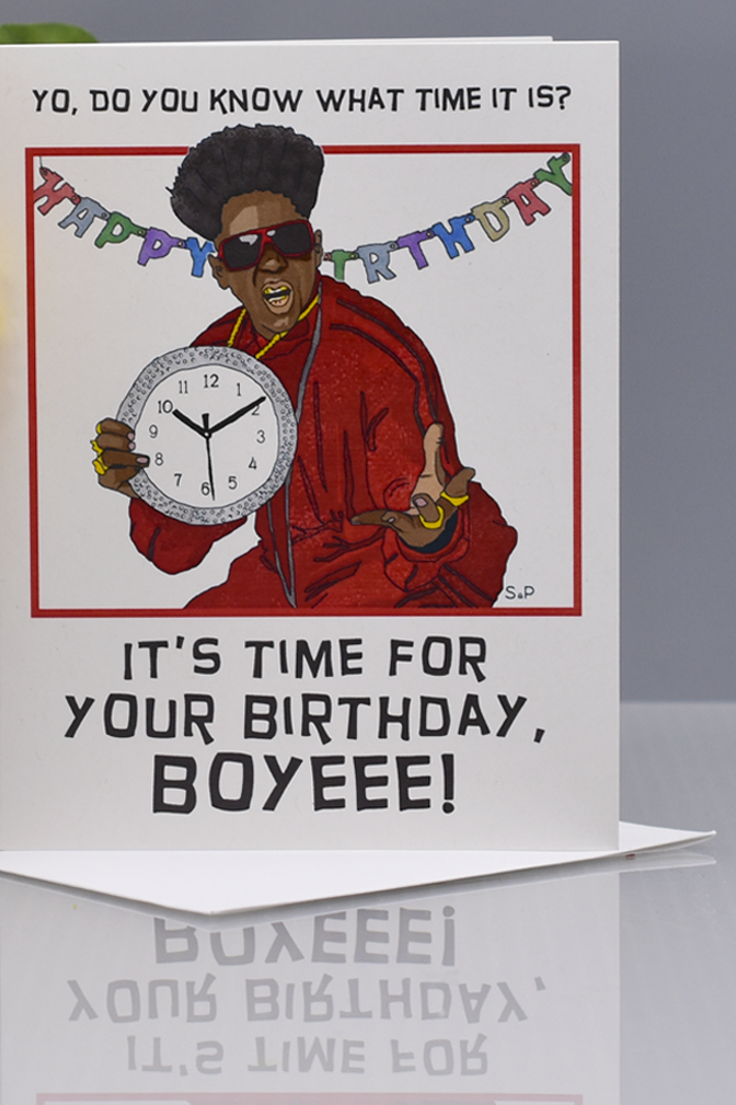 Seas and Peas Flavor Flav Valentines Day Card