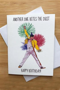 Yea Oh Greetings Freddy Mercury Card