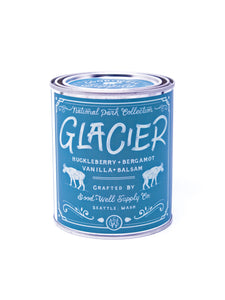 Good and Well Supply Co. National Park Pint Candle Glacier
