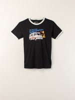 The Great PNW Cruisin' Ringer Tee Black