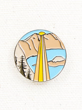 Load image into Gallery viewer, Good and Well Supply Co. Enamel Pin Crater Lake