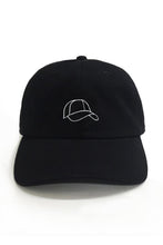Load image into Gallery viewer, Dad Brand Apparel Hat Outline Dad Hat