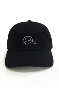 Dad Brand Apparel Hat Outline Dad Hat