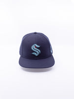 American Needle Seattle Kraken 400 Series Hat Navy