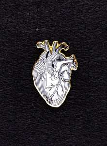 Strike Gently Co. Heart Pin