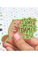 Load image into Gallery viewer, Turtle's Soup I Don't Give A Dam Vinyl Sticker