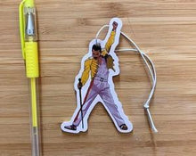 Load image into Gallery viewer, Yea Oh Greetings Freddy Mercury Air Freshener
