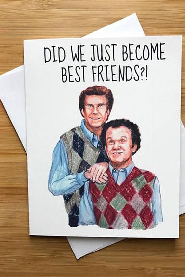 Yea Oh Greetings Best Friends Step Brothers Card