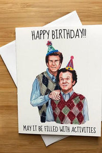Yea Oh Greetings Step Brothers Birthday Card