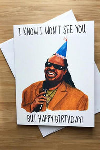 Yea Oh Greetings Stevie Wonder Birthday Card