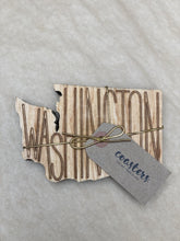 Load image into Gallery viewer, Zootility Washington Cutout Coaster