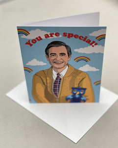 The Found Greeting Card Mr. Rogers You Are Special Birthday