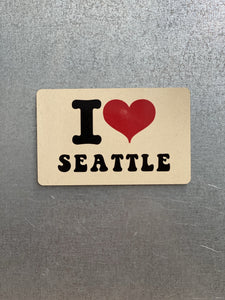 Jim Spinx Magnet I Love Seattle