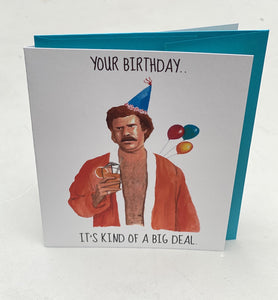 Yea Oh Greetings Ron Burgandy Card