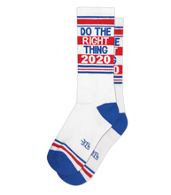 Load image into Gallery viewer, Gumball Poodle Do The Right Thing 2020 Socks