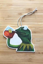 Load image into Gallery viewer, Yea Oh Greetings Kermit Air Freshener