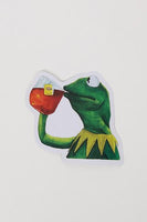 Yea Oh Greetings Kermit Sticker