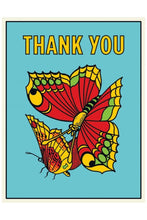 Load image into Gallery viewer, The Found Butterflies Thank You Card