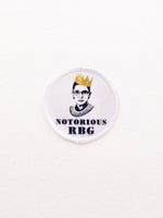Jim Spinx Notorious RBG Patch