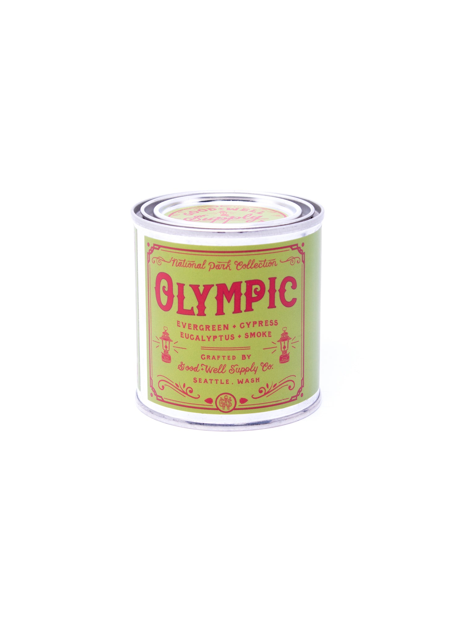 Good and Well Supply Co. Half Pint National Park Candle Olympic